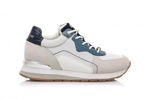 Zapatillas MARIA MARE  WHITE/BLUE Blancas