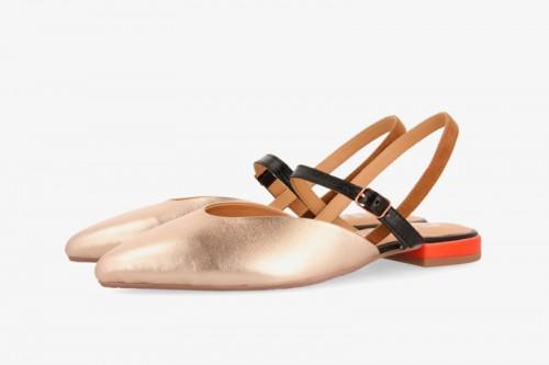 Zapatos GIOSEPPO  RANDALL dorados