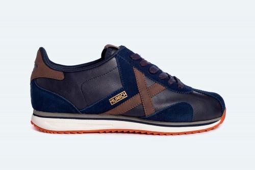 Zapatillas MUNICH SAPPORO 115 Azules