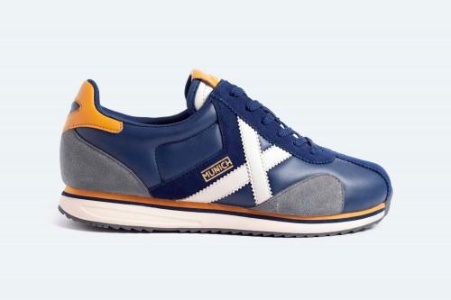 Zapatillas MUNICH SAPPORO 122 Azules