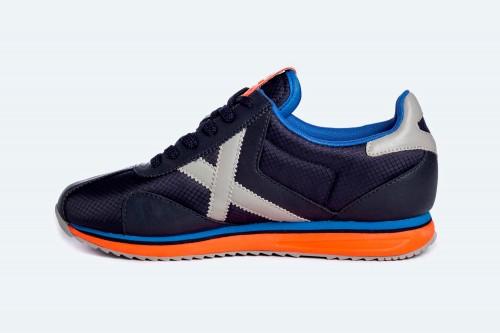 Zapatillas MUNICH SAPPORO 125 Azules