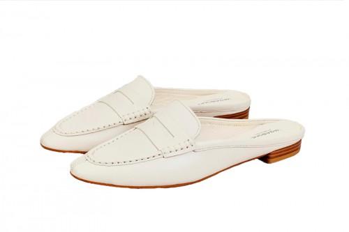 Zapatos planos VAGABOND  CLEO Blancas