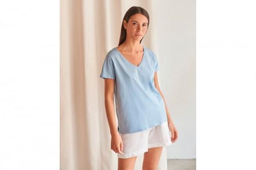 Camiseta MUS&BOMBON BASIECO azul