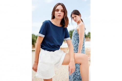 Camiseta MUS&BOMBON ILESHA azul