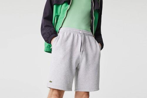 Pantalón LACOSTE  SPORT Tennis en Felpa gris
