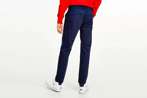 Pantalón TOMMY HILFIGER SCANTON DOBBY azul