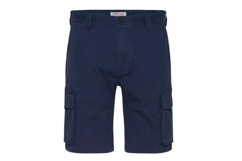 Pantalón TOMMY HILFIGER WASHED CARGO azul
