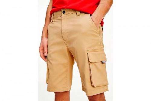 Pantalón TOMMY HILFIGER WASHED CARGO marrón