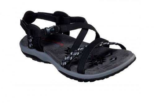 Zapatillas SKECHERS  REGGAE SLIM - VACAY Negras
