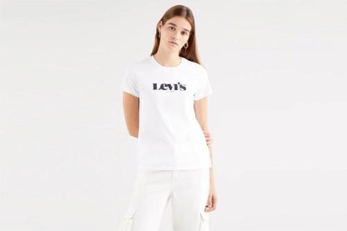 Camiseta Levi's  THE PERFECT Blanca