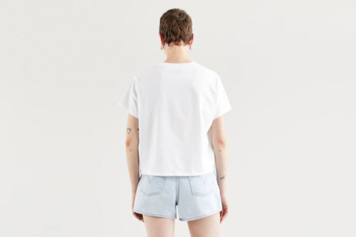 Camiseta LEVI´S  VARSITY GRAPHIC Blancas