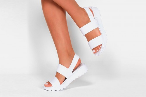 Sandalias SKECHERS  FOOTSTEPS-BREEZY FEELS Blancas