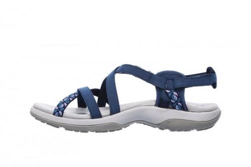 Sandalias SKECHERS  REGGAE SLIM - VACAY Azules