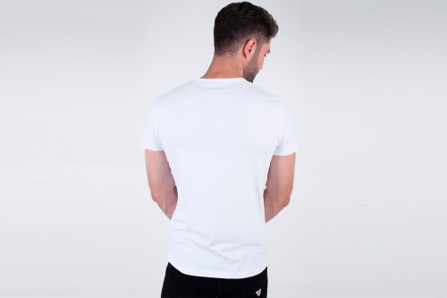 Camiseta PEPE JEANS ORIGINAL BASIC 3 blanca