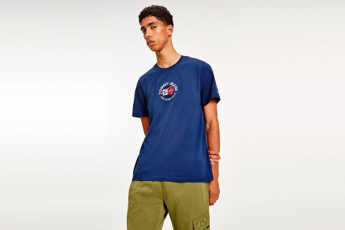 Camiseta TOMMY HILFIGER TIMELESS azul