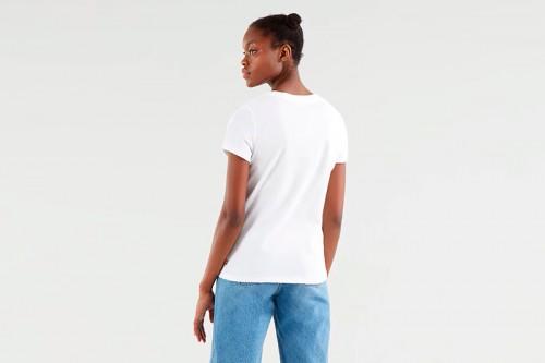 Camiseta Levi's  BATWING blanca