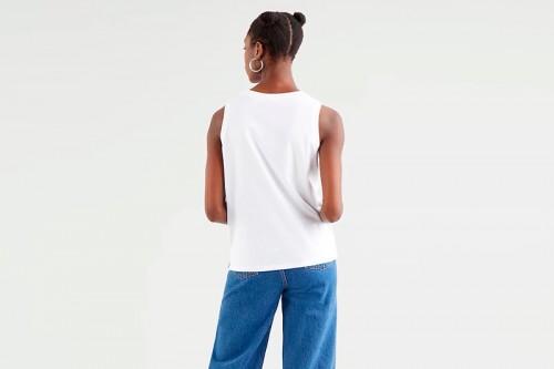 Camiseta Levi's  DARA TANK blanca