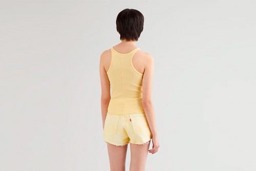 Camiseta LEVI´S  HIGH NECK amarilla