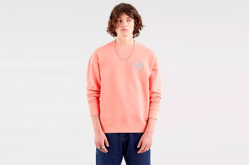 Sudadera Levi's  RELAXED T2 rosa