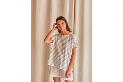 Camiseta MUS&BOMBON BASEICO blanca