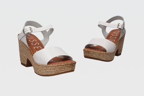 Sandalias MUSSE&CLOUD ERA Blancas
