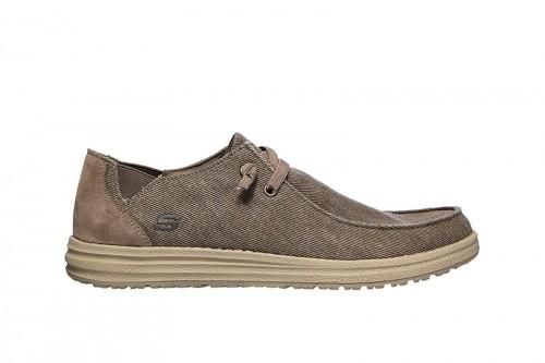 Zapatos SKECHERS  MELSON-RAYMON Marrones