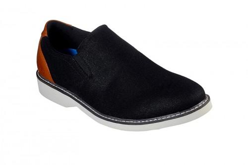 Zapatos SKECHERS  PARTON - DERWIN negros
