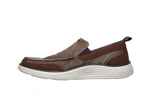 Zapatos SKECHERS  STATUS 2.0- LENTON Marrones