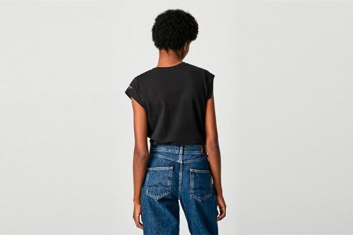 Camiseta PEPE JEANS CORINNE negra