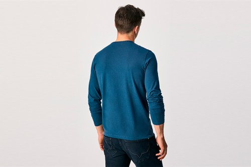 Camiseta PEPE JEANS ORIGINAL BASIC 2 LONG azul