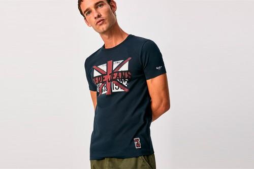 Camiseta PEPE JEANS ROLAND azul