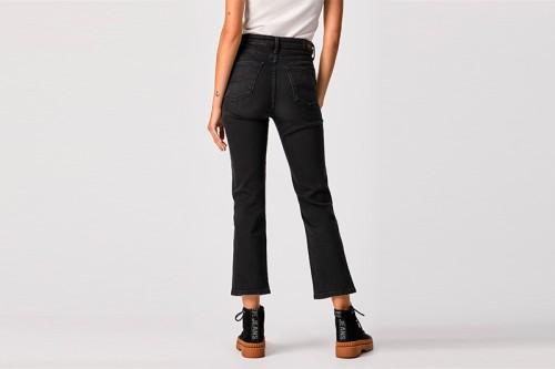 pantalones PEPE JEANS DION 7/8 negros