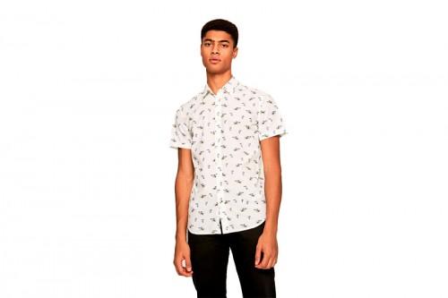 camisa PEPE JEANS DESMOND blanca