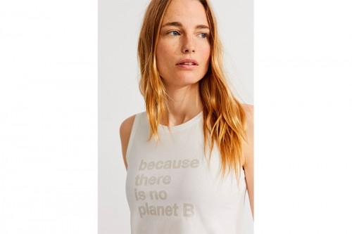 Camiseta ECOALF CATALINALF blanca