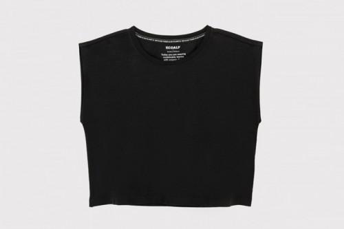 Camiseta ECOALF WIND negra