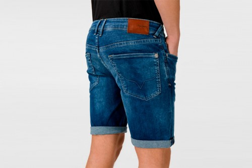 Pantalón PEPE JEANS HATCH SHORT Azules