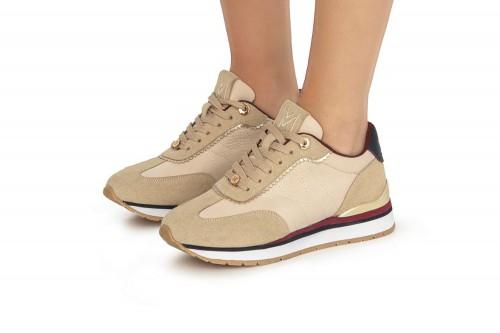 Zapatillas MARIA MARE  63041 Beiges